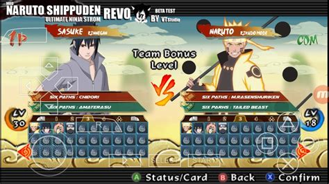 download mod game naruto revolution mod pack texture naruto storm revolution ppsspp youtube
