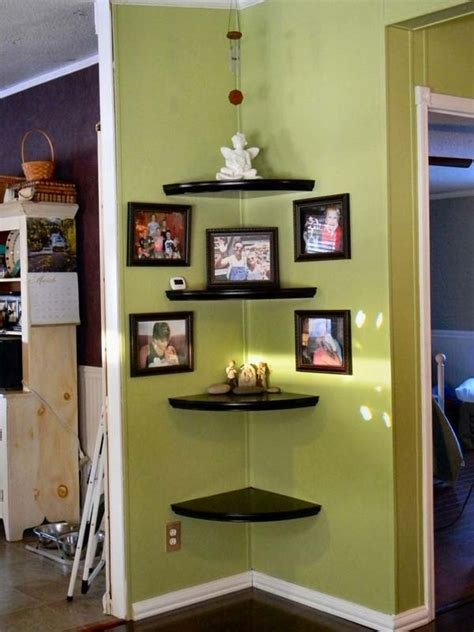 inspiring and cool display shelf ideas to spruce up the