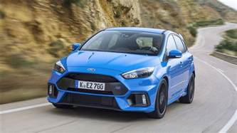 ford focus rs all wheel drive the only option photos