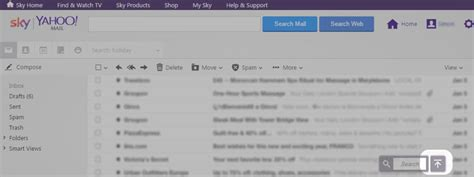 email yahoo sky sky help how to use sky yahoo mail
