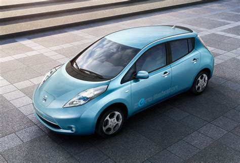 slammed nissan leaf half of u s vehicles would be electrified by 2030