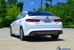 Kia Optima Limited 2016 Kia Optima Sxl Sx Limited Spin