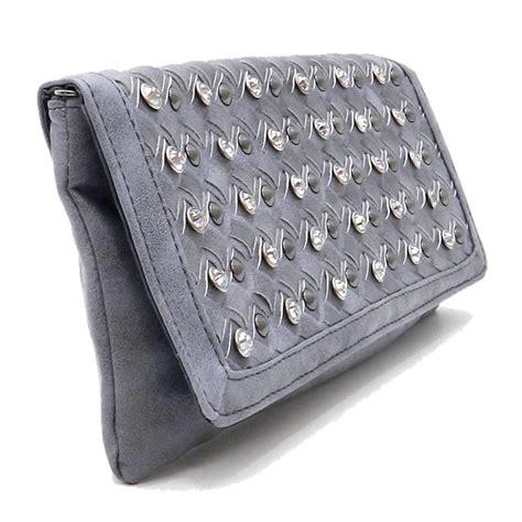New Arrival Clutch Fashion H011 fn100222 grey clutch new arrival purses fashion world