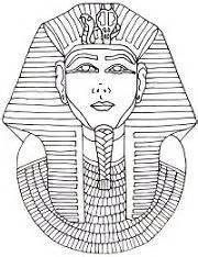 king tut mask template 1000 images about homework on tutankhamun