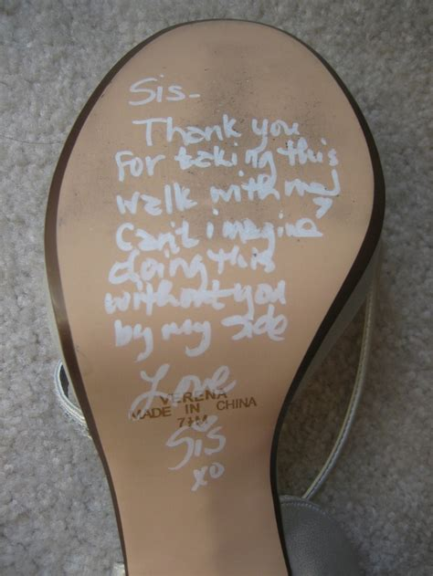 Wedding Bells In The Air Meaning by Wrote A Special Message On The Bottom Of My S