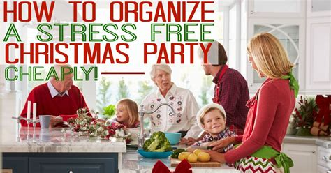 organise a staff christma party how i organize a stress free cheaply plus peapod review the busy budgeter