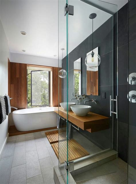 idee decoration salle de bain ceramique  vanite