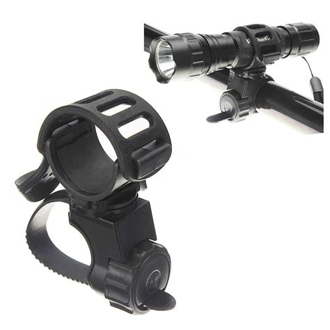Torch Light Mount Holder For Bicycle Pe 360 bike bicycle flashlight torch mount holder light