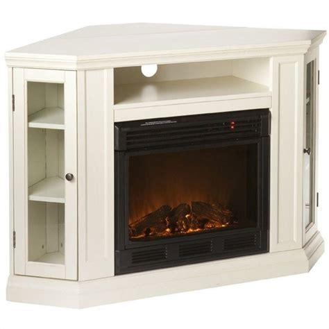 Southern Enterprises Ponoma Convertible Media Electric Electric Fireplace Ivory
