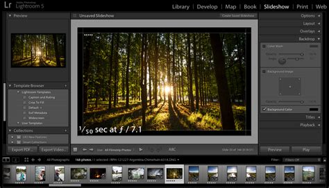 How To Create Slideshows In Lightroom Lightroom Slideshow Templates Free