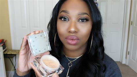 becca soft light blurring powder becca soft light blurring powder demo review youtube