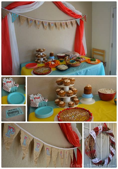 carnival theme party 50th birthday party ideas carnival boardwalk birthday party sneak peek eclectic
