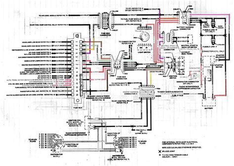 generator electrical wiring diagram of holden vk commodore circuit wiring diagrams