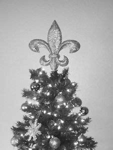 fleur de lis christmas tree topper trees christmas