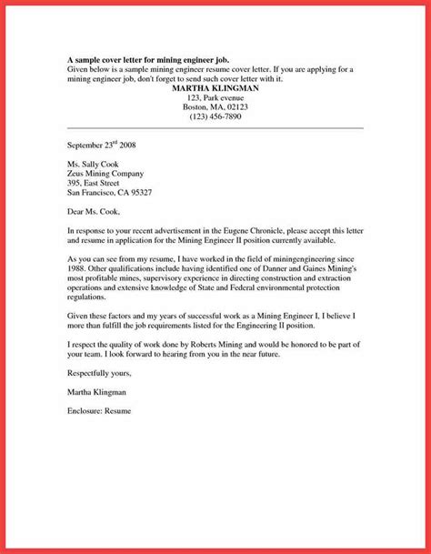 Formal Covering Letter by Formal Cover Letter Sle Memo Exle