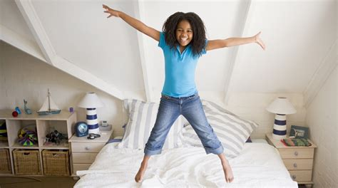 jumping bed fitness trackers can improve your kids health too