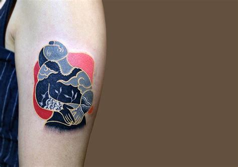 south korean tattoo artist gives classic fine art an