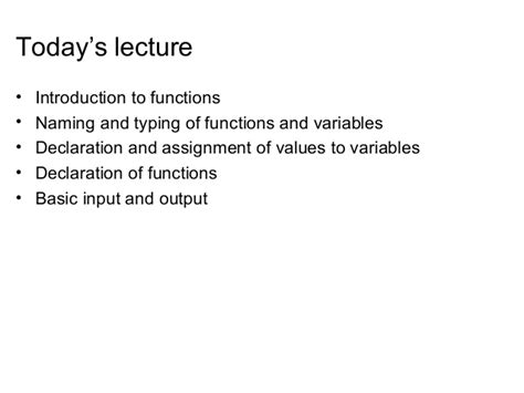 02 functions variables basic input and output of c