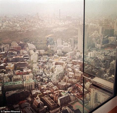 who wrote room with a view rihanna tweets a picture direct from tokyo hotel room giving an amazing view of the city