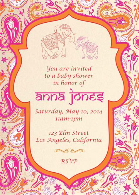 baby shower invitations indian best 25 indian baby showers ideas on indian