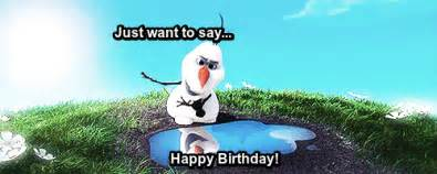 Frozen Birthday Meme - olaf gif find share on giphy