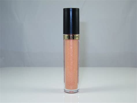 Revlon Lustrous Shine Lipgloss revlon sandstorm lustrous lipgloss review swatches and cosmetics