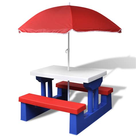 Children S Picnic Table With Umbrella by Childs Wooden Picnic Table With Umbrella Decorative