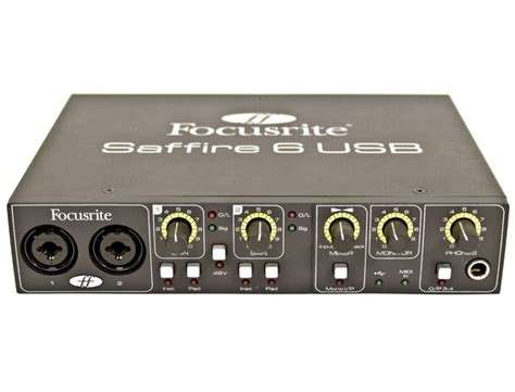 Sound Card Focusrite Saffire 6 Usb focusrite saffire 6 usb audio interface reviews prices