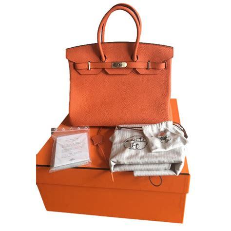 H Rmes Togo List Tengah Scarf sacs 224 herm 232 s herm 232 s birkin 35 togo orange 233 tat neuf set cuir orange ref 35449