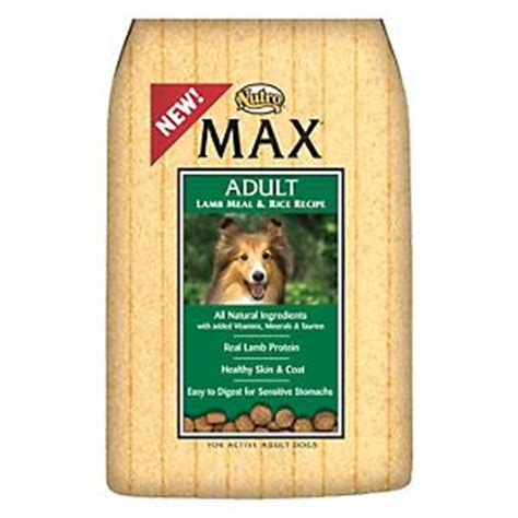 nutro max puppy food nutro max and rice food