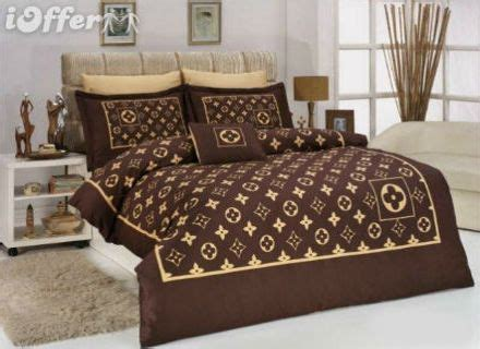 louis vuitton luxury bed set queen size 6 pieces by 004 louis vuitton 6pcs authentic luxury bed set satin made