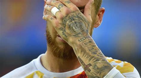 tato bintang bola bahaya tato pada tubuh bintang sepak bola termasuk lionel