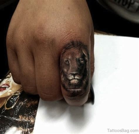 36 remarkable tiger tattoos on finger