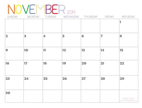 printable calendar 2014 new zealand november 2014 calendar latest calendar
