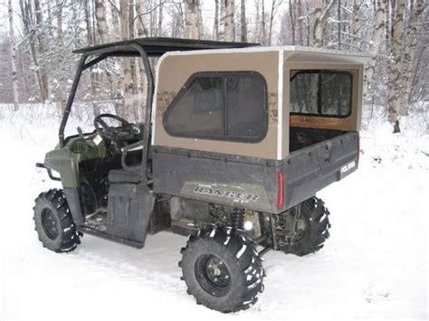 canopycamper shell atv utv pinterest shells   campers