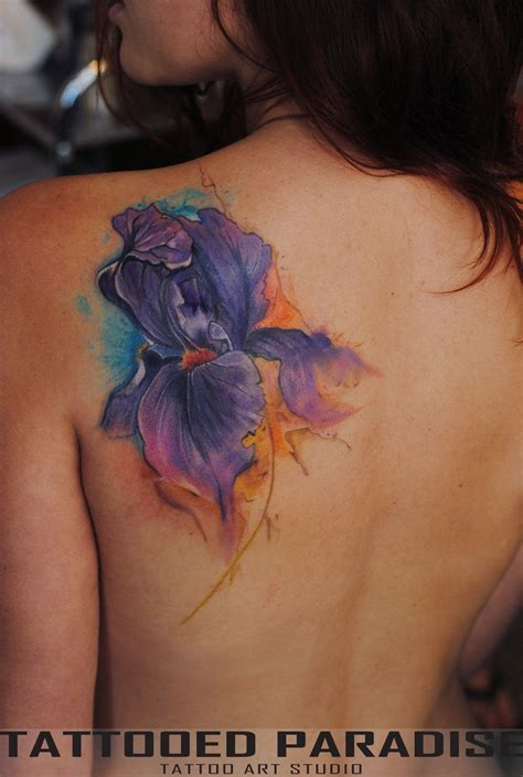 watercolor tattoo facebook iris watercolor by dopeindulgence deviantart on