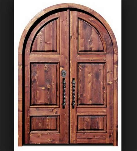 Arch Doors by Arched Wood Doors Design Interior Home Decor