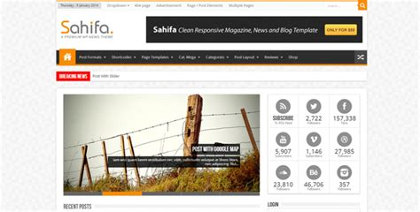 sahifa theme showcase 20 most appealing responsive wordpress themes of the year