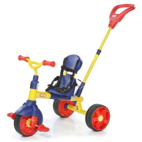 Sepeda Tikes 3 In 1 Learn To Pedal Trikes Tikes Learn To Pedal 3 In 1 Trike Tricycles