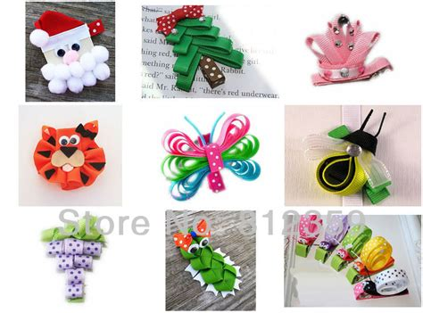 how to make ribbon sculpture hair bows kids sculpture ribbon bow baby girl grosgrain hair clip