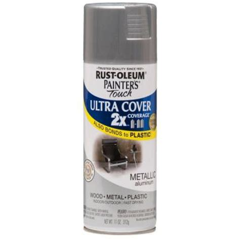 rust oleum painter s touch 2x 12 oz aluminum general