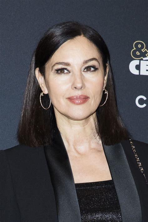 monica bellucci joven monica bellucci quot cesar revelations 2018 quot party in paris