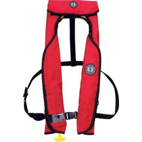 Mustang Auto Life Vest by Mustang M I T 100 Auto Inflatable Vest Life Jackets