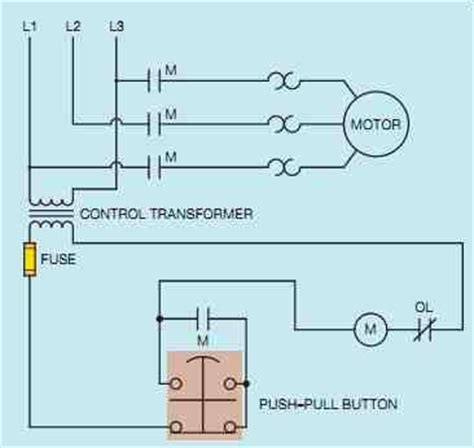 combination starter wiring diagram with hoa