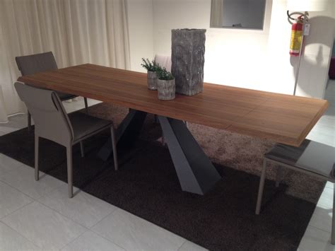 cattelan tavoli tavolo cattelan eliot wood drive rettangolari allungabili