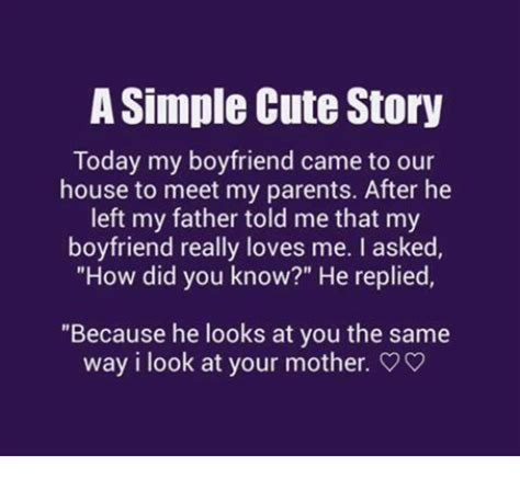 Trending Today What Makes Arealboyfriend by Asimple Story Today My Boyfriend Came To Our House To