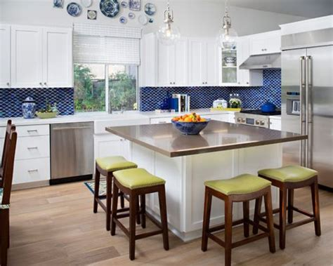 square kitchen island houzz