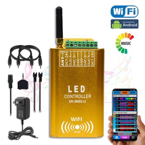 Addressable Led Controller Wifi - dc7 24v newest led wifi color spectrum dmx