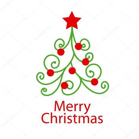 arbol de navidad vector vector logo decorativo 225 rbol de navidad vector de stock