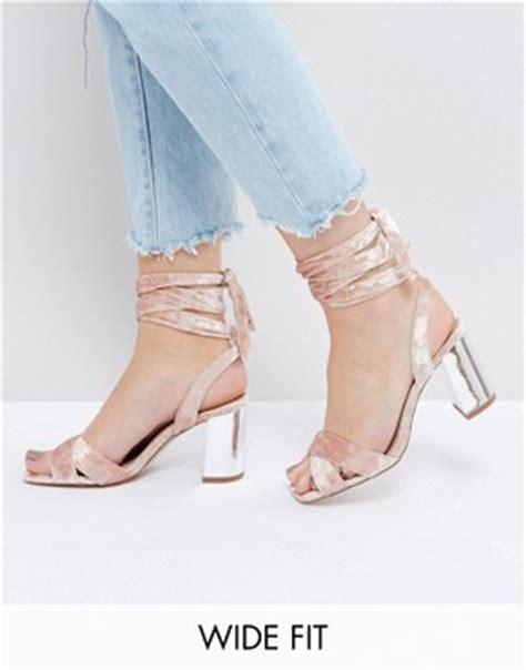 Asos Thunder Minimal Sandals heeled sandals ankle high heel stiletto sandals